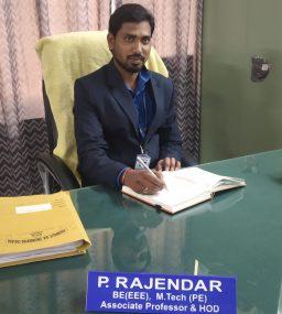 P Rajendar